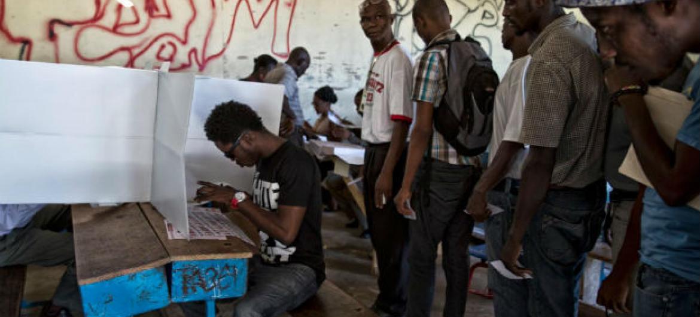 Eleições no Haiti. Foto: Minustah