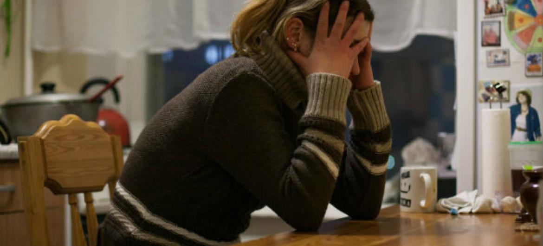 O número de pessoas no mundo sofrendo de depressão ou de ansiedade subiu quase 50% entre 1990 e 2013. Foto: OMS