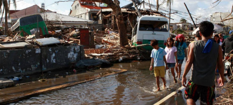 Relatório da Escap revela que a região da Ásia-Pacífico é a mais propensa a desastres naturais. Foto: Ocha
