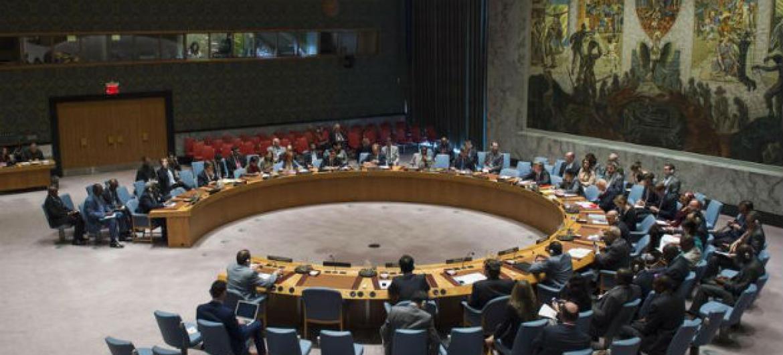 Conselho de Segurança da ONU. Foto: ONU/Amanda Voisard