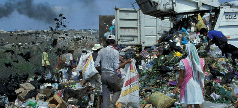 O relatório da OMS cita como fatores de risco ambientais a poluição do ar, da água e do sólo.Foto: Banco Mundial