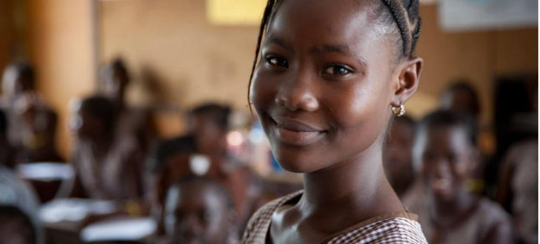 Dia da Menina é neste domingo. Foto: Unicef Serra Leoa/2015/Kassaye