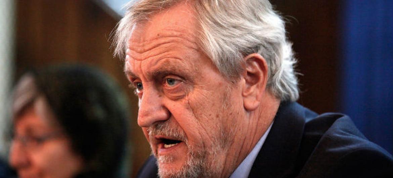 Representante especial do secretário-geral para o Afeganistão, Nicholas Haysom.