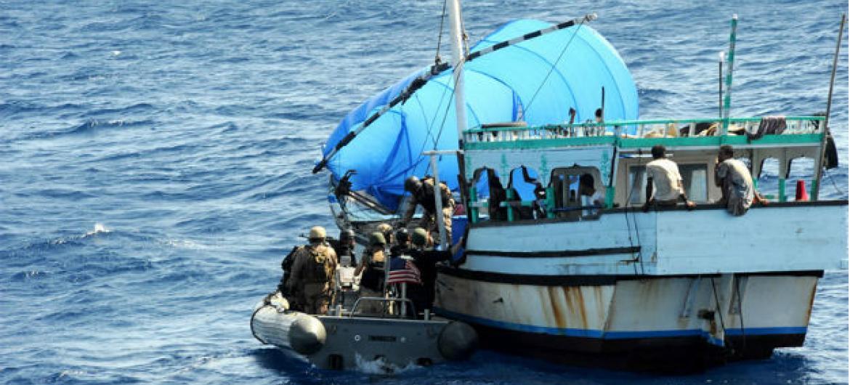 Ban Ki-moon disse continuar apreensivo com um possível retorno da pirataria em larga escala.Foto: Marinha EUA/Ja'lon A. Rhinehart