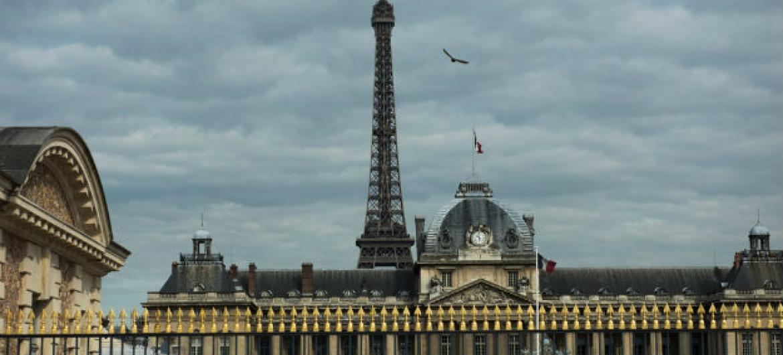Vista de Paris, França, da sede da Unesco. Foto: ONU/Mark Garten