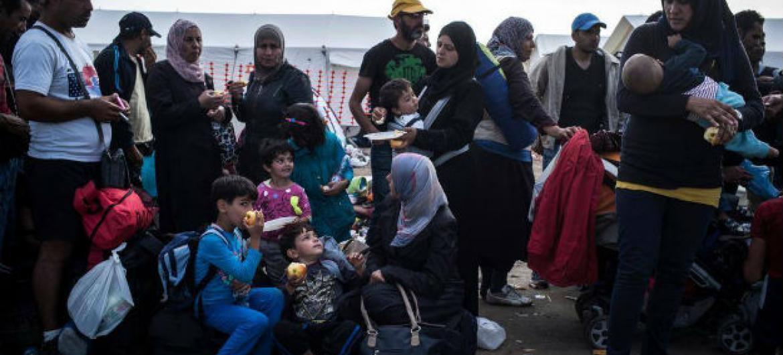 Refugiados sírios. Foto: Acnur/Olivier Laban Mattei