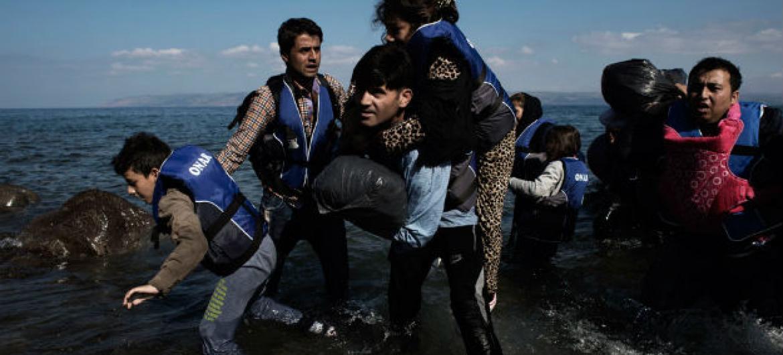 Assistência internacional a refugiados e solicitantes de asilo. Foto: Unicef/Alessio Romenzi
