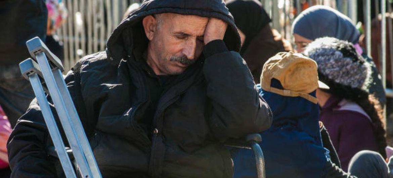 Segundo o Acnur, a fronteira está fechada há 10 dias e não há indicações de quando será reaberta.Foto: Acnur/Imre Szabó