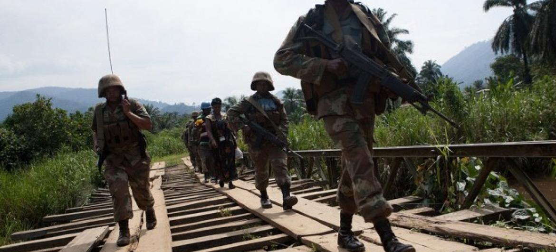 Especialistas foram encontrados por forças da Missão da ONU na RD Congo. Foto: Monusco