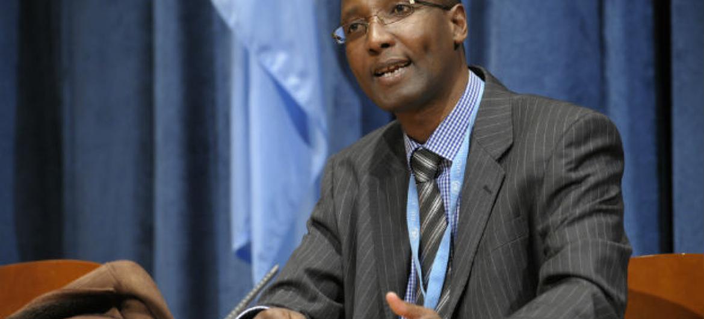 Mutuma Ruteere é orelator especial das Nações Unidas sobre Formas Contemporâneas de Racismo.Foto: ONU/Evan Schneider