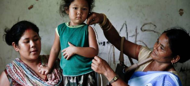 Situação das crianças e suas famílias tem vindo a piorar diariamente. Foto: Unicef.