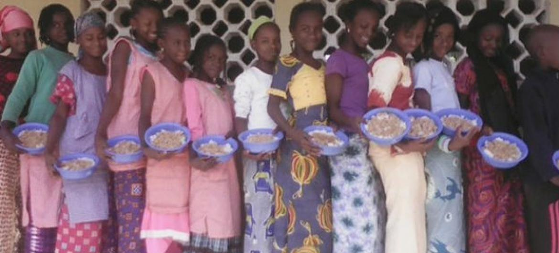 PMA irá fornecer refeições na Guiné Conacri. Foto: PMA/Sanoussy Barry