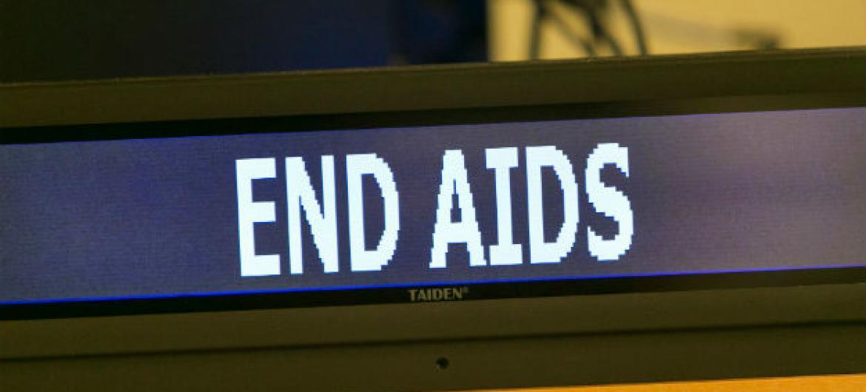Combate à Aids. Foto: ONU