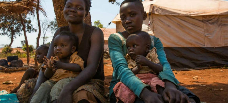 A maioria dos refugiados burundeses em acampamentos na Tanzânia são crianças. Foto: Unicef