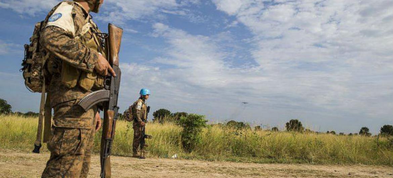Yambio e arredores foram marcados por dois dias de tiros esporádicos . Foto: Unmiss