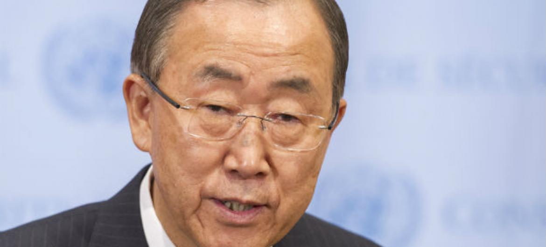 Secretário-geral da ONU, Ban Ki-moon. Foto: ONU/Mark Garten
