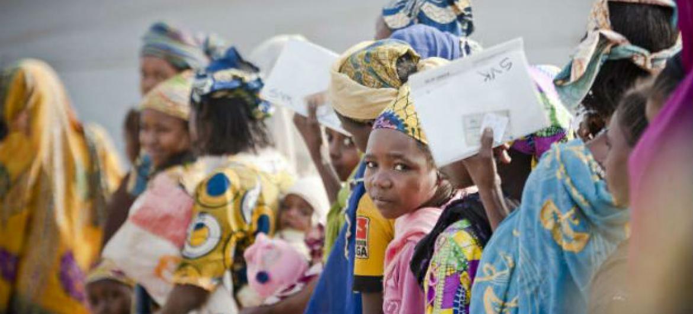 Refugiados centro-africanos nos Camarões. Foto: Acnur/C. Tijerina