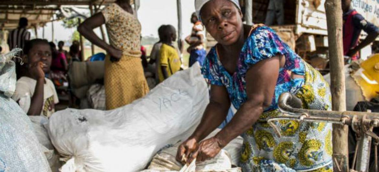 Refugiados poderão finalmente reencontrar suas famílias na Côte d'Ivoire.Foto: Acnur/D. Diaz