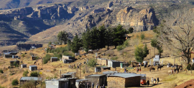 Comunidades em África são afetadas de forma desproporcional por décadas de degradação ambiental.Foto: FAO