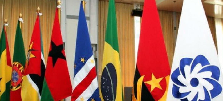 Bandeiras dos países de língua portuguesa. Foto: Cplp