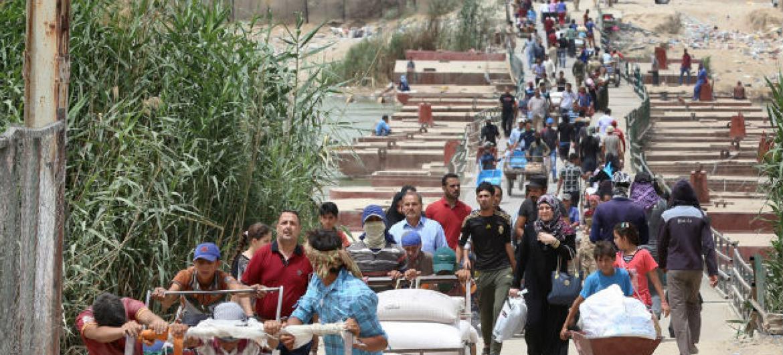 A situação de conflito no Iraque tem consequências graves para os menores. Foto: Unicef/ Wathiq Khuzaie