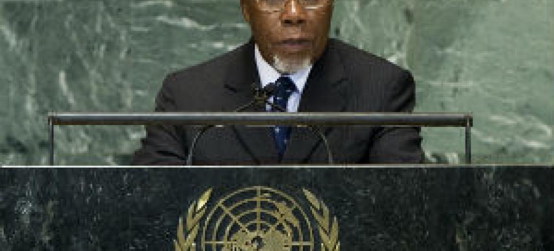 Embaixador Ismael Martins. Foto: ONU/Devra Berkowitz