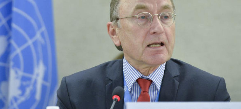 Joachim Ruecker. Foto: ONU/Jean-Marc Ferré