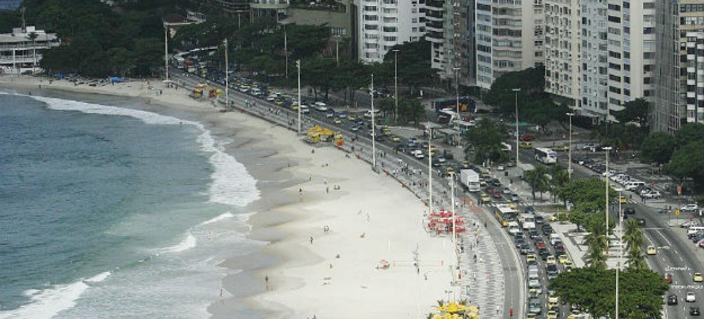 Rio de Janeiro foi uma das cidades visitadas pelos peritos. Foto: ONU/Evan Schneider