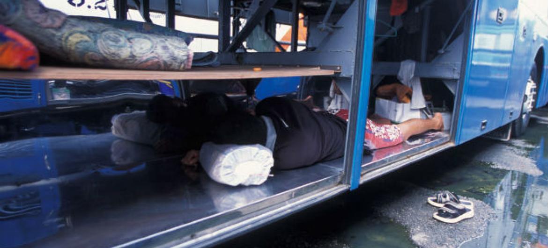 Tailândia costuma ser foco dos traficantes de pessoas. Foto: Unicef/Jim Holmes