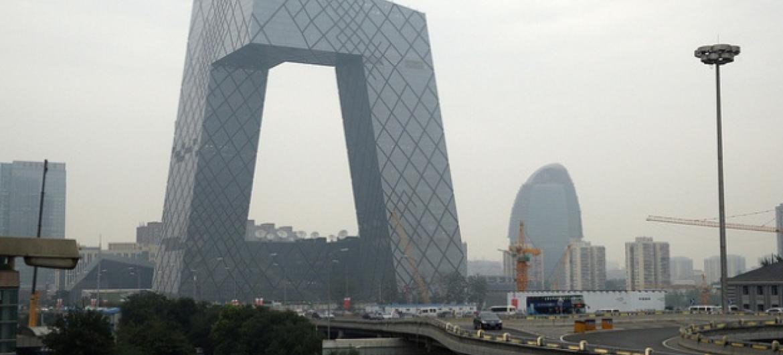 Pequim está sofrendo com um uma forte fumaça nos últimos meses . Foto: Banco Mundial.