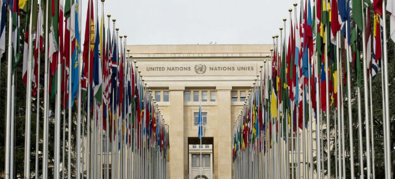 Sede das Nações Unidas em Genebra, Suíça. Foto: ONU/Jean-Marc Ferré