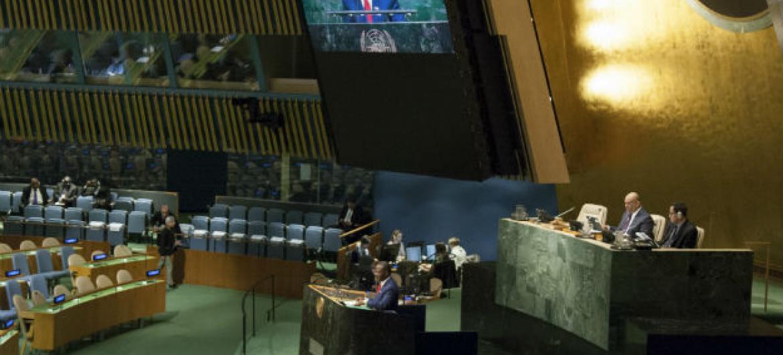 Reunião decorreu na Asembleia Geral da ONU. Foto: ONU/Loey Felipe