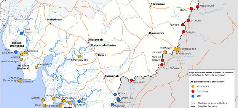 Guiné Conacri reativa triagem de saúde em fronteiras para mitigar propagação do ébola. Foto: Reprodução