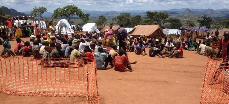Malaui acolhe pelo menos 3.265 cidadãos moçambicanos. Foto: Acnur/M. Mapila.