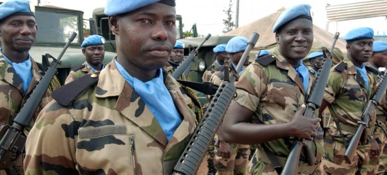 Missão da ONU na Côte d'Ivoire, Onuoci. Foto: ONU/ Eskinder Debebe.