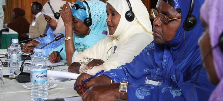 Parlemento terá cota de 30% para a representantes femininas e minorias. Foto: Amisom.