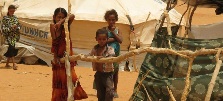 Campo de refugiados de Mbera, na Mauritânia, na região do Sahel. Foto: PMA/Justin Smith