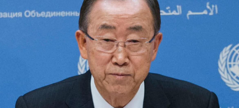 Ban Ki-moon. Foto; ONU/Amanda Voisard (arquivo)