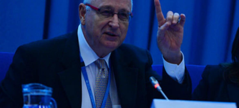 Vice-diretor do departamento de Ciências e Aplicações Nucleares da Aiea, Aldo Malavasi. Foto: AIEA