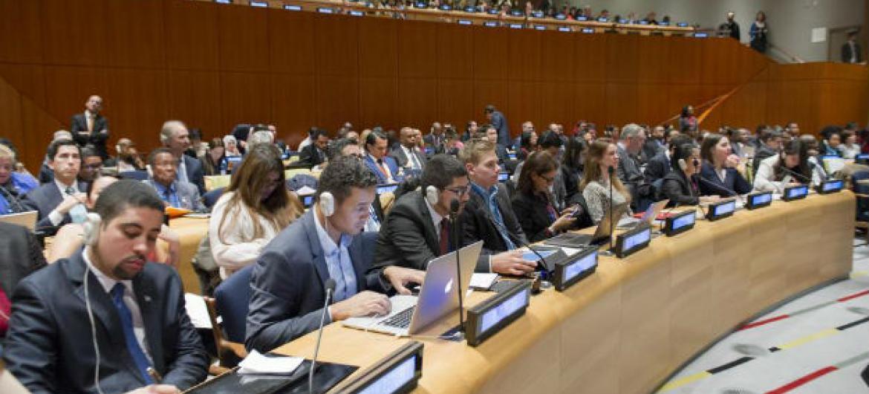Fórum da Juventude no Conselho Econômico e Social.Foto: ONU/Rick Bajornas