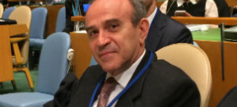 Embaixador João Almino. Foto: Rádio ONU