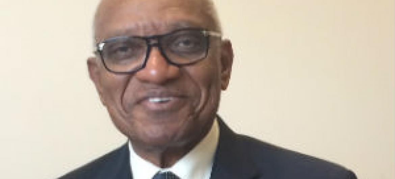 Miguel Trovoada nesta quarta-feira na sede da ONU em Nova Iorque. Foto: Rádio ONU