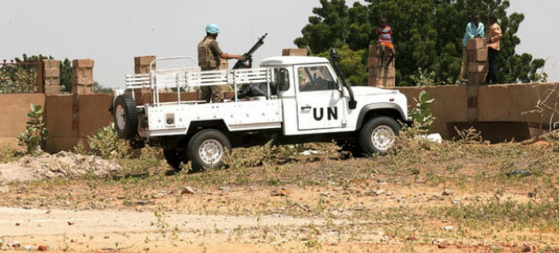 Patrulha da ONU em Darfur. Foto: Unamid/Mohamad Almahady