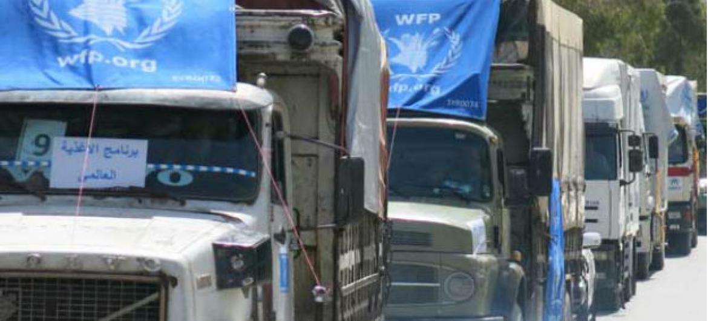 Agência está se esforçando para entregar comida a todos que precisam.Foto: PMA/Hani Al Homsh (arquivo)