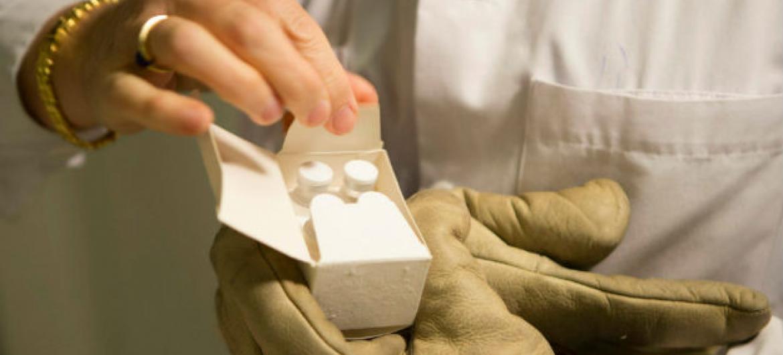 Segundo a FAO, resistência aos antibióticos é uma ameaça emergente à saúde pública.Foto: OMS/M. Missioneiro