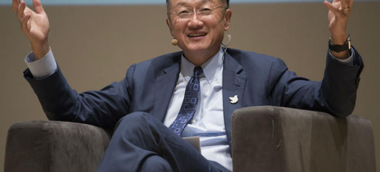O presidente do Banco Mundial, Jim Yong Kim.Foto: Banco Mundial/Dominic Chavez