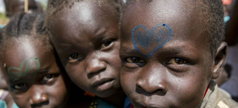Crianças no Sudão do Sul. Foto: ONU/JC McIlwaine