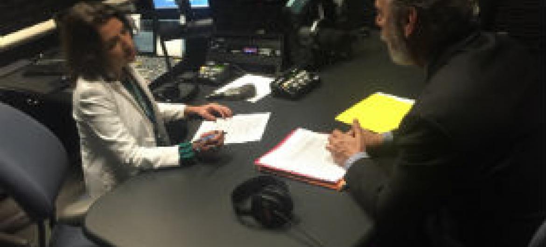 Embaixador Antonio Patriota, em entrevista à Rádio ONU.