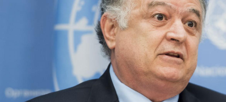 Manoel Sobral Filho. Foto: ONU/Mark Garten