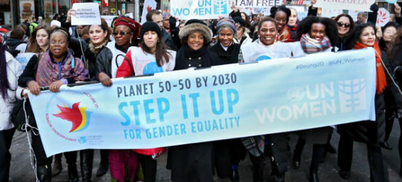 Dia Internacional da Mulher. Foto: ONU Mulheres/Ryan Brown
